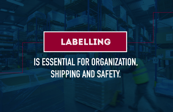 labeling for shipping and safety