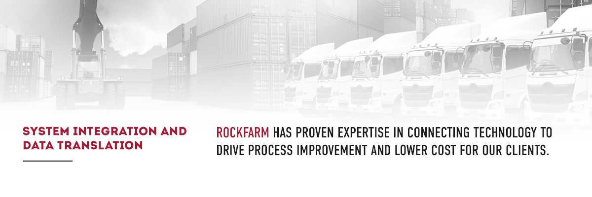 Rockfarm has proven experience in connecting technology to drive process improvements