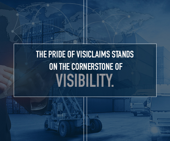 we introduce visibility to the freight claims process