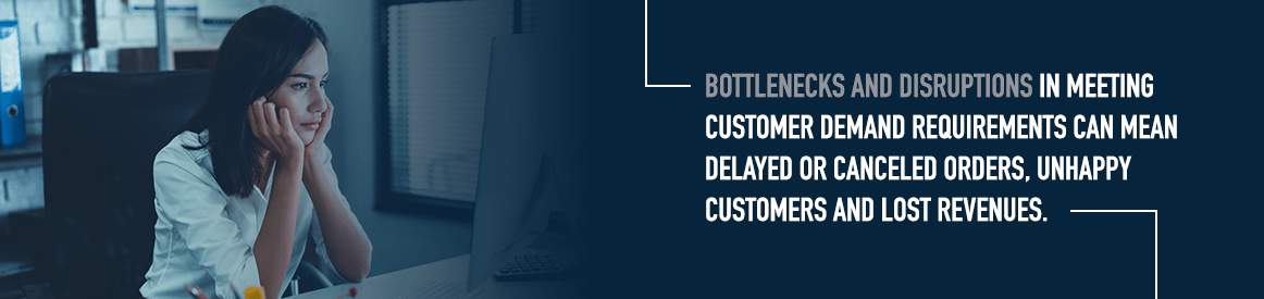 Avoid bottlenecks and disruptions in your business with supply chain solutions